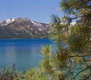 Lago. Lago caduto leaf, California Fotografia Stock Libera da Diritti