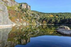 Lago Laguna Negra a Soria, Spagna Fotografie Stock Libere da Diritti