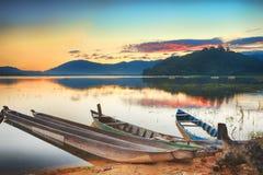 Lago lak Immagine Stock