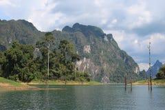 Lago Lan de Cheow Fotos de archivo