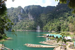 Lago lan di Cheow Immagini Stock