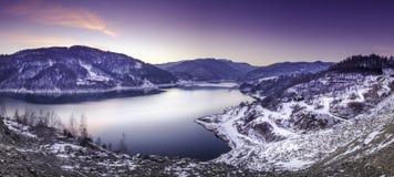 Lago landscape Fotografia de Stock Royalty Free