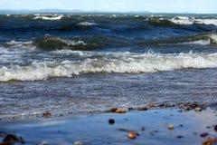 Lago landscape su Ural Immagini Stock Libere da Diritti