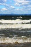 Lago landscape su Ural Fotografia Stock