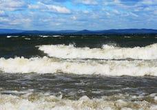 Lago landscape su Ural Immagine Stock