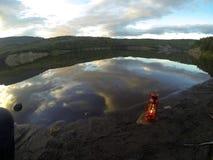 Lago lantern Foto de archivo