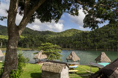 Lago a Las Terrazas, Cuba Fotografie Stock Libere da Diritti