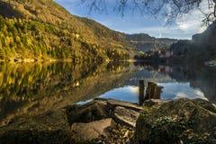 Lago Lases, TN Fotografia Stock Libera da Diritti