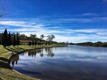 Lago in Lat del Da Fotografia Stock Libera da Diritti