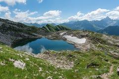 Lago Laufbichelsee Fotografia Stock Libera da Diritti