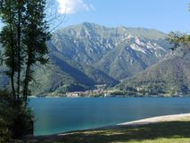 Lago Ledro Fotografía de archivo libre de regalías