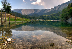 Lago Leech fotografia de stock royalty free