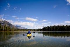Lago leigh nel Wyoming immagini stock