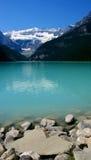 Lago leitoso moraine fotografia de stock