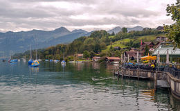 Lago leman Fotografie Stock Libere da Diritti