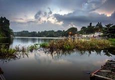 Lago Lengkong Fotos de archivo libres de regalías