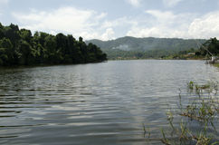 Lago Lengkong Fotografía de archivo