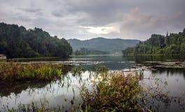 Lago Lengkong Imagen de archivo