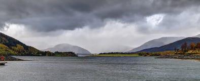 Lago Leven Foto de archivo