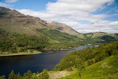 Lago Leven en Escocia Fotos de archivo libres de regalías