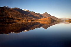 Lago Leven Highlands Fotografie Stock