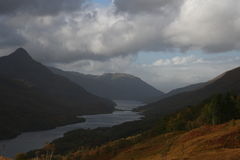 Lago Leven, Scozia Fotografia Stock Libera da Diritti