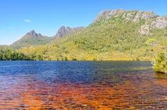 Lago Lilla - montaña de la cuna Fotografía de archivo libre de regalías