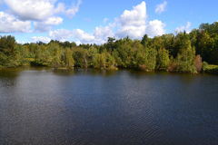 Lago lindo Imagens de Stock Royalty Free