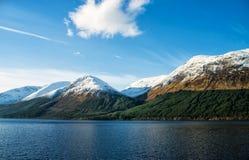 Lago Linnhe Escocia Fotografía de archivo