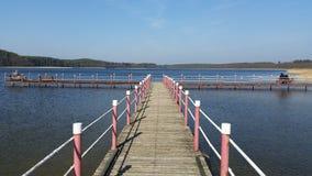 Lago Lipczyno Wielkie foto de archivo