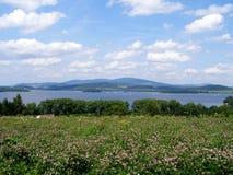 Lago Lipno, Sumava Fotografia de Stock