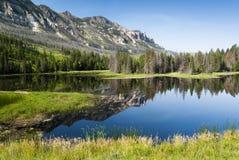 Lago a lo largo del principal camino apartado escénico de José fotografía de archivo