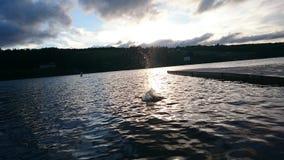 Lago Lochaber, Nova Scotia Foto de archivo libre de regalías
