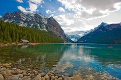 Lago Louis Imágenes de archivo libres de regalías