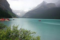Lago Louis foto de stock