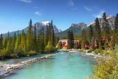 Lago Louise Banff Alberta Canada Imagem de Stock