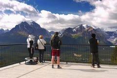 Lago Louise Ski Resort Gondola Summer, Banff NP Fotos de Stock