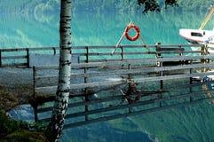 Lago Lovannet, Noruega Imágenes de archivo libres de regalías