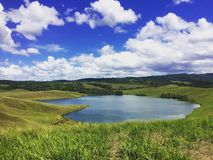 Lago love alla Papuasia Fotografie Stock