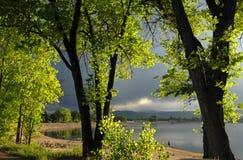 Lago Loveland Fotografie Stock Libere da Diritti