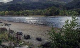 Lago Lubnaig immagine stock