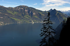 Lago Lucerna Fotografie Stock