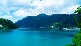 Lago Lucerna, nella zona centrale della Svizzera Vierwaldstättersee Immagini Stock