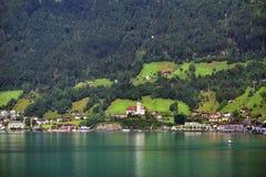 Lago Lucerna, Svizzera Immagini Stock Libere da Diritti