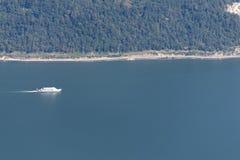 Lago Lucerna visto dalla montagna di Stanserhorn Immagini Stock Libere da Diritti