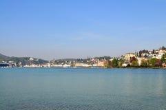 Lago Lucerne Foto de Stock Royalty Free