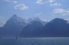Lago Lucerne cénico Foto de Stock Royalty Free