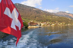 Lago Lucerne cénico Imagens de Stock