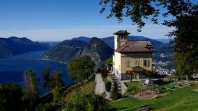 Lago Lugano de Monte Bre metrajes