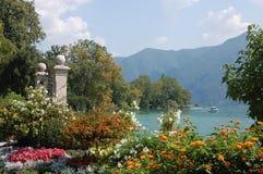 Lago Lugano Suiza Fotografía de archivo